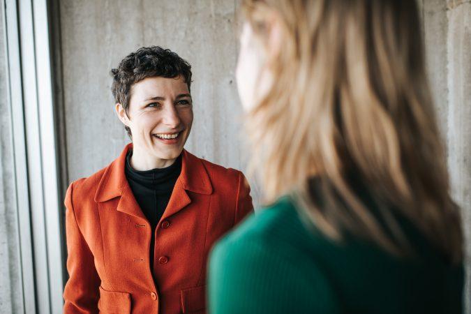 DRIFT medewerker Julia Wittmayer