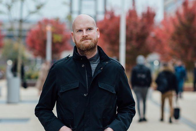DRIFT medewerker Frank van Steenbergen
