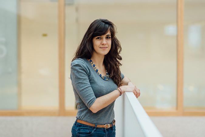 DRIFT medewerker Giorgia Silvestri