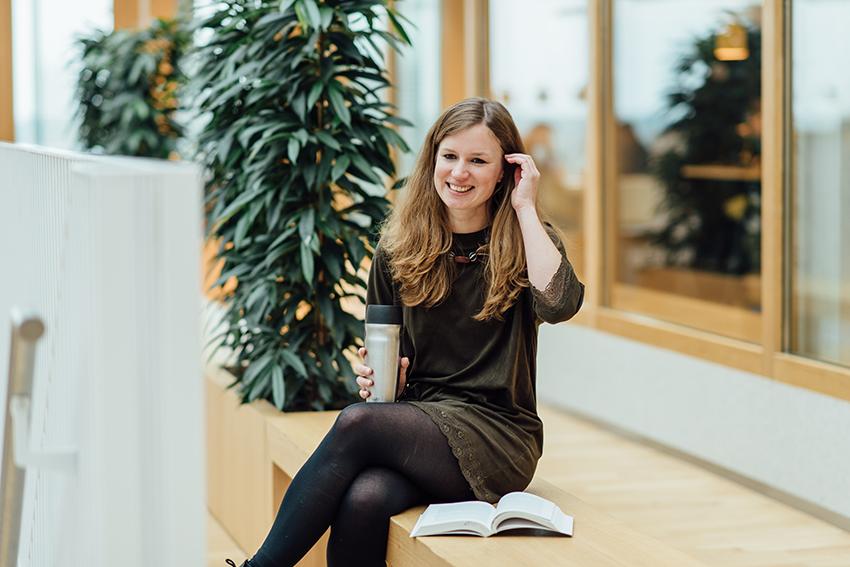DRIFT medewerker Katharina Hölscher