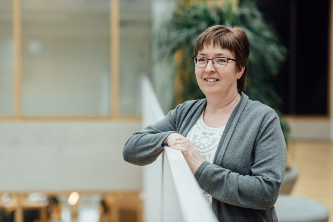 DRIFT medewerker Sandra van Heeren