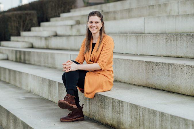 DRIFT medewerker Lisa Barsties