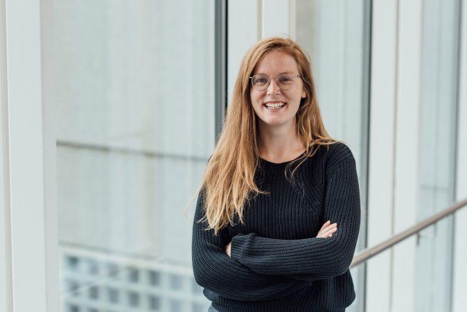 DRIFT medewerker Maria Fraaije