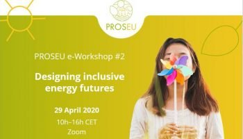 DRIFT PROSEU E-workshop: Designing Inclusive Energy Futures