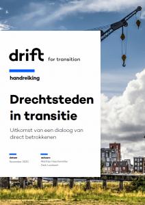 foto van cover Drechtsteden in Transitie