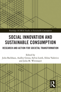 Cover of paperback 'social innovation and susatinable consumption'