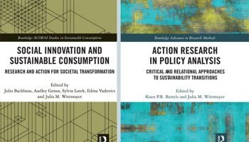DRIFT Paperbacks available: 'Social Innovation and Sustainable Consumption' and 'Action Research in Policy Analysis'