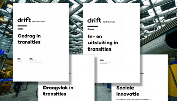 DRIFT Essays accompanying 'Sturing in Transitie'