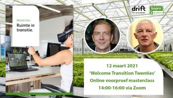 DRIFT Webinar 'Welcome Transition Twenties'