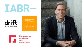 DRIFT Persbericht: Derk Loorbach benoemd tot hoofdcurator van de 10e Internationale Architectuur Biennale Rotterdam in 2022: SHOCK AND ROLL