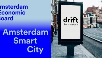 DRIFT We are now a knowledge partner of Amsterdam Smart City