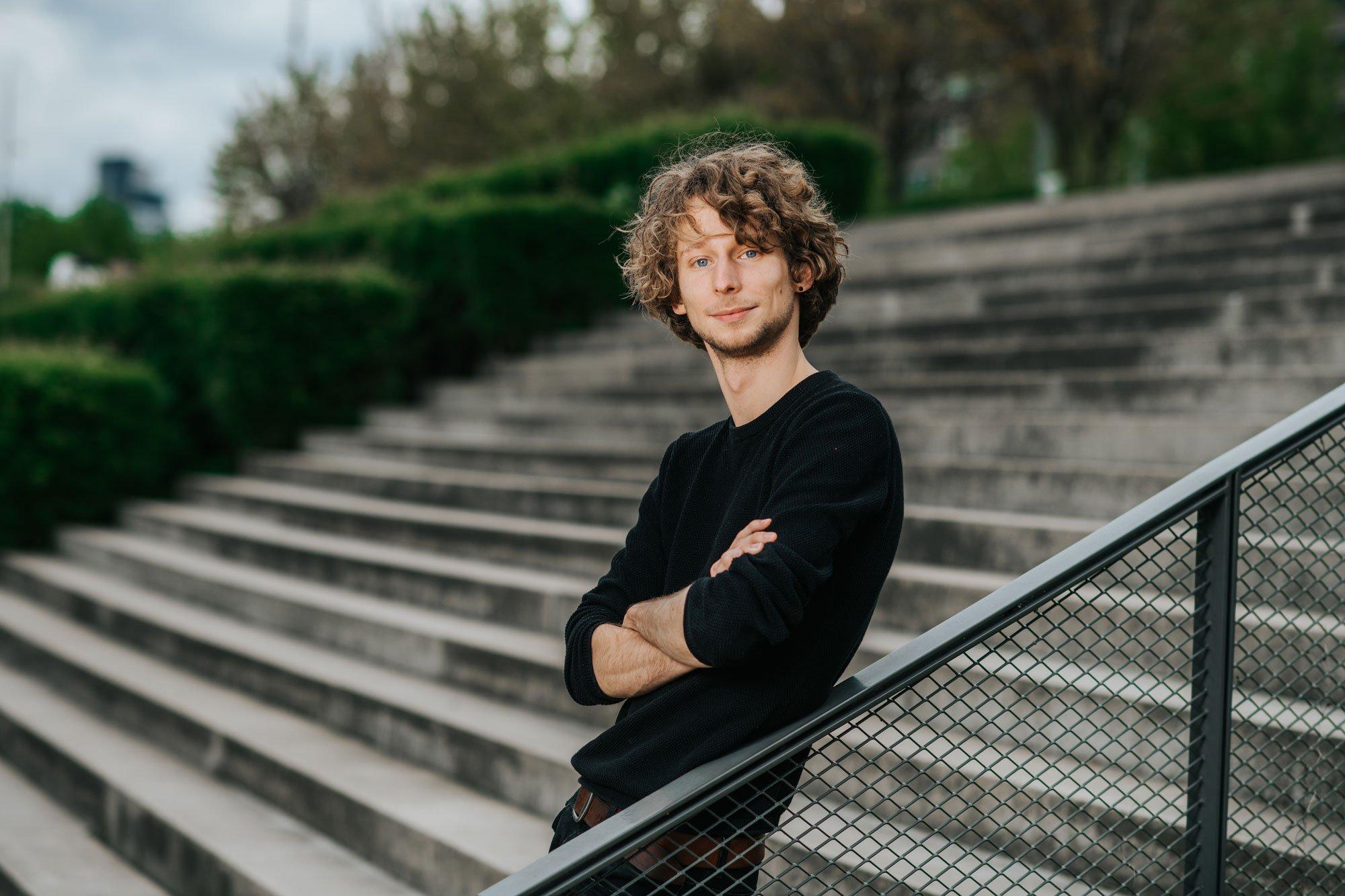 DRIFT medewerker Serf Doesborgh