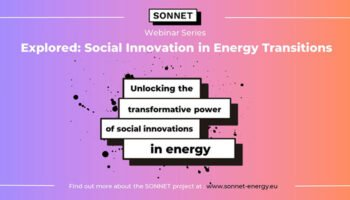 DRIFT SONNET Webinar: Unlocking the Transformative Power of Social Innovation in Energy